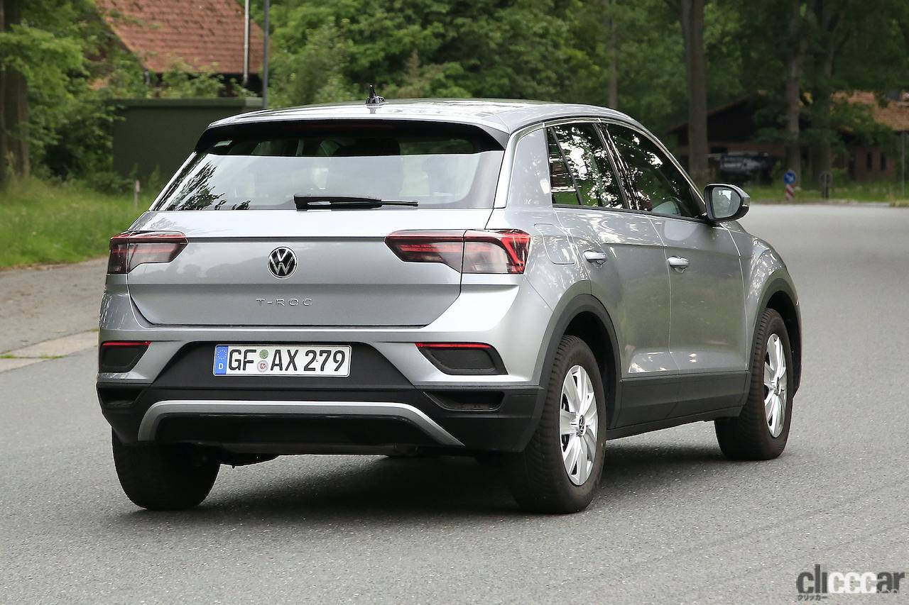 「フロントフェイスを刷新!VW T-Roc改良型プロトタイプをキャッチ」の9枚目の画像