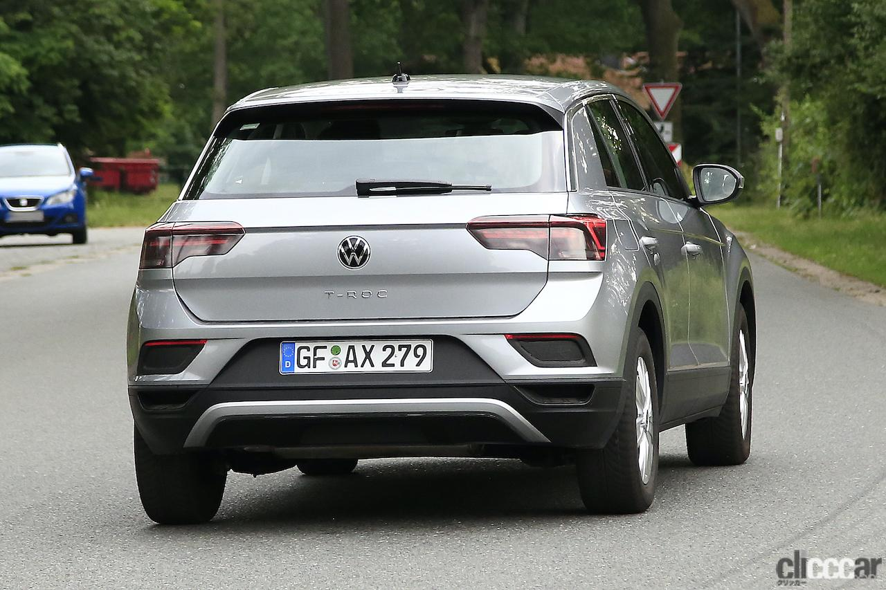 「フロントフェイスを刷新!VW T-Roc改良型プロトタイプをキャッチ」の11枚目の画像