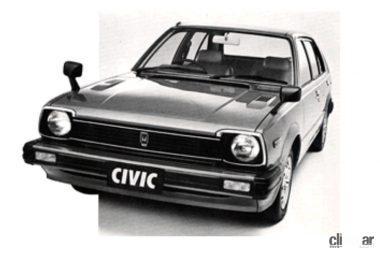 1979年発売の2代目シビック