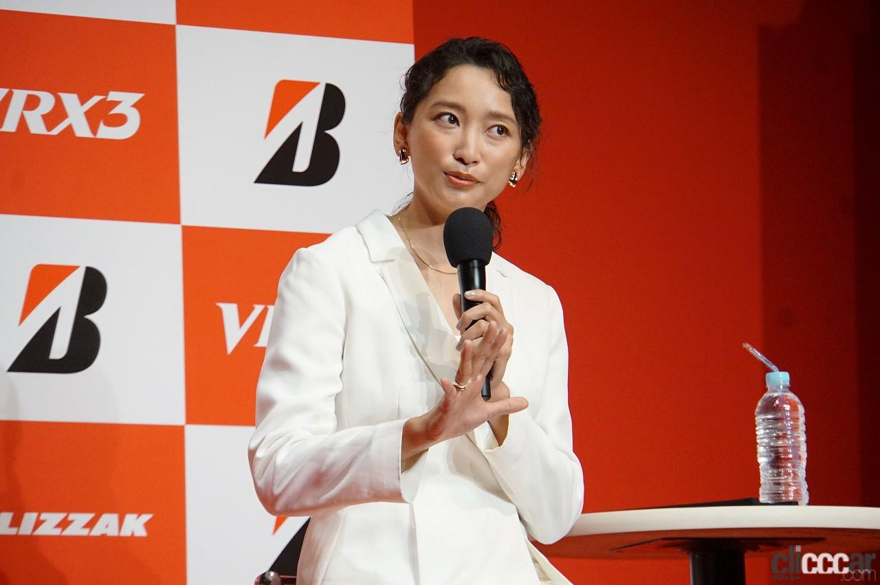 「ブリヂストンの新作スタッドレス「ブリザックVRX3」発表会で杏さんが語った新たな挑戦とは?」の2枚目の画像