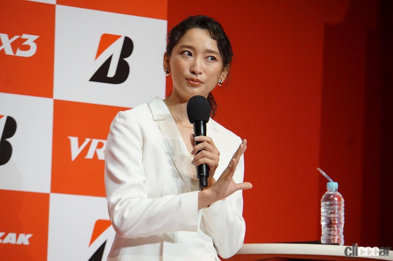 「ブリヂストンの新作スタッドレス「ブリザックVRX3」発表会で杏さんが語った新たな挑戦とは?」の5枚目の画像