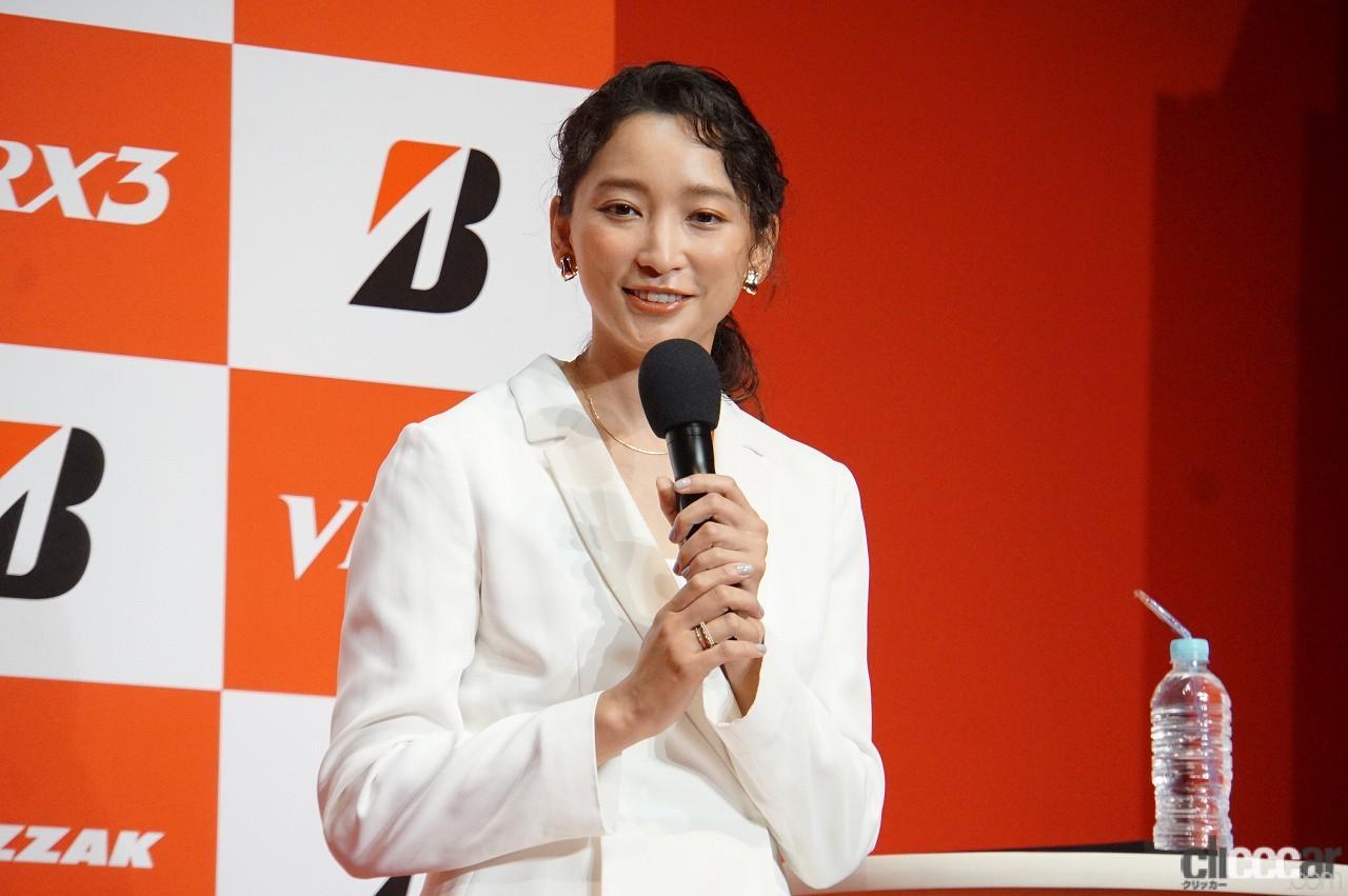 「ブリヂストンの新作スタッドレス「ブリザックVRX3」発表会で杏さんが語った新たな挑戦とは?」の7枚目の画像