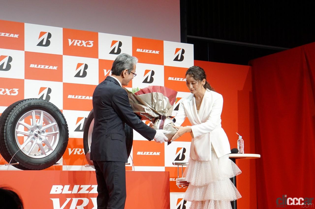 「ブリヂストンの新作スタッドレス「ブリザックVRX3」発表会で杏さんが語った新たな挑戦とは?」の11枚目の画像