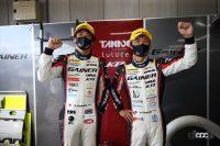 GAINER TANAX GT-Rの平中選手と安田選手
