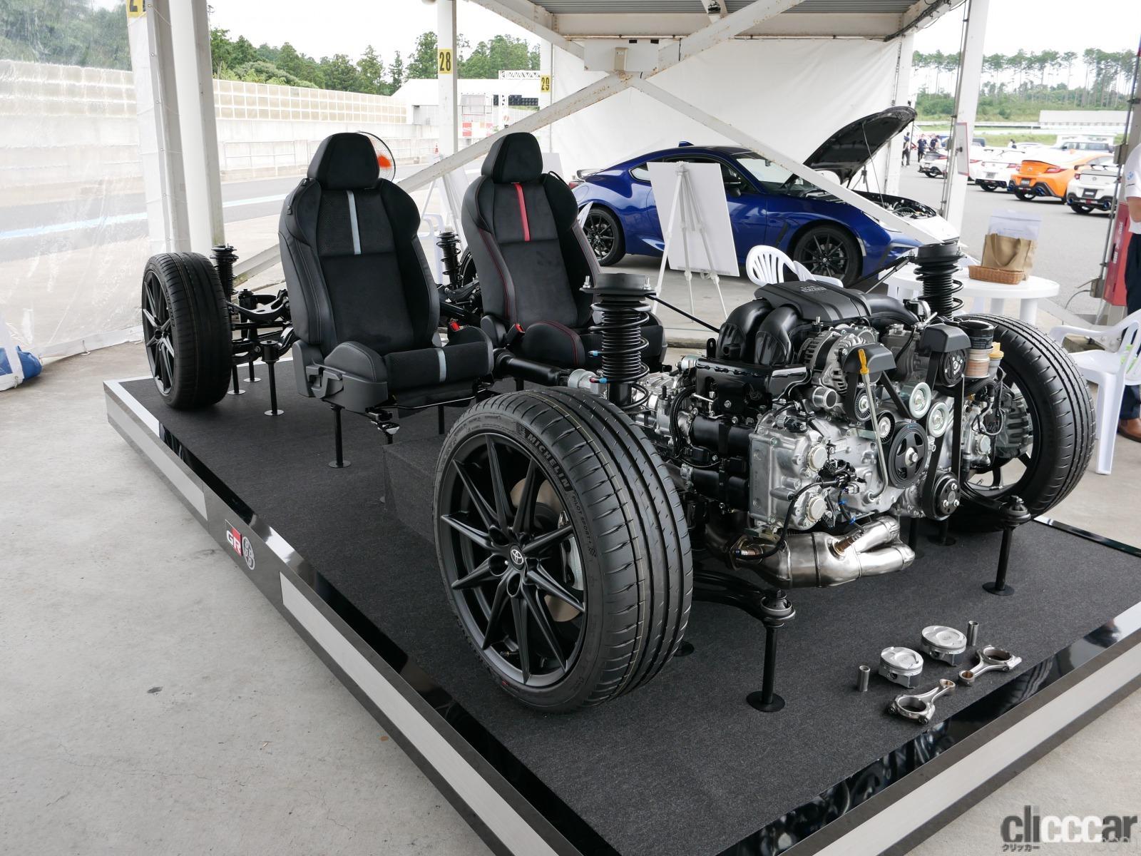 「新しいGR86/BRZの2.4Lエンジンが7000rpm超まで軽快に回る理由は「D-4S」にあった!」の2枚目の画像