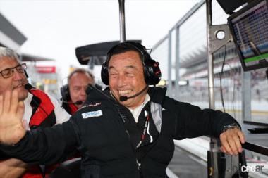 F1引退後の中嶋悟総監督