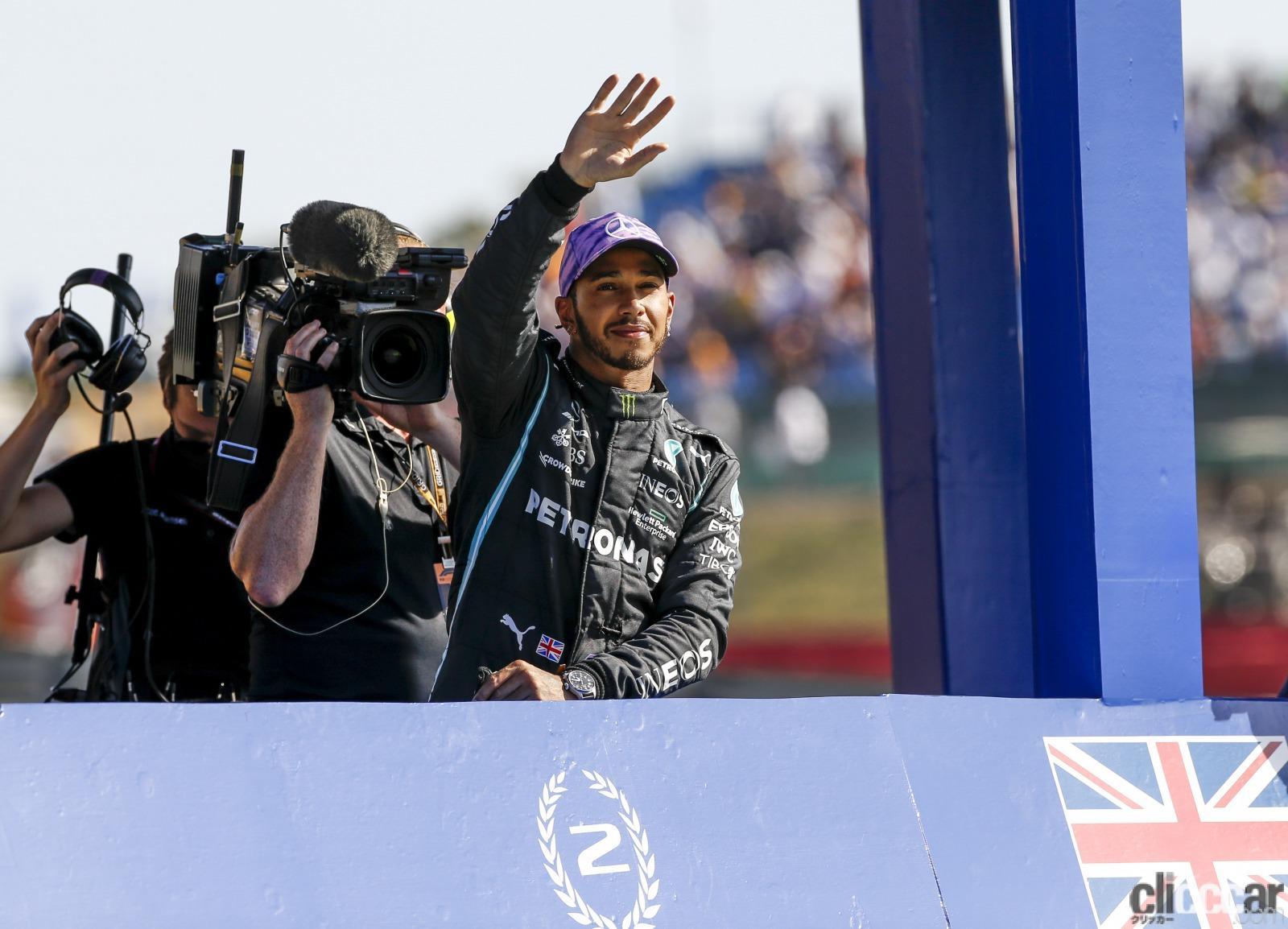 「スプリントレース予選でモヤっとしたイギリスGP。私の心を癒してくれたのは、あの人!【F1女子のんびりF1日記】」の3枚目の画像