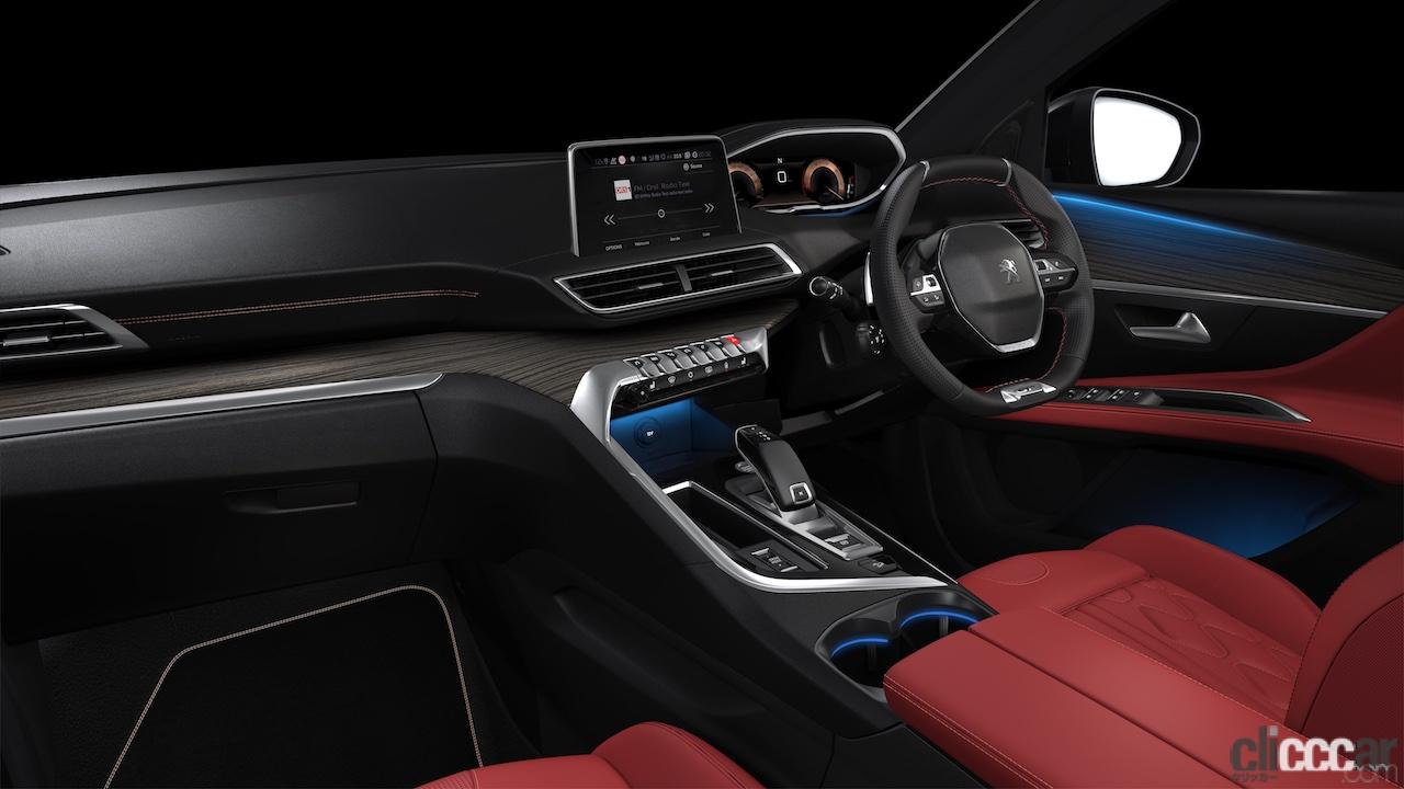「ラグジュアリーな⾚いナッパレザーシートが際立つ特別仕様車プジョー「5008 GT BlueHDi Red Nappa」が発売」の1枚目の画像