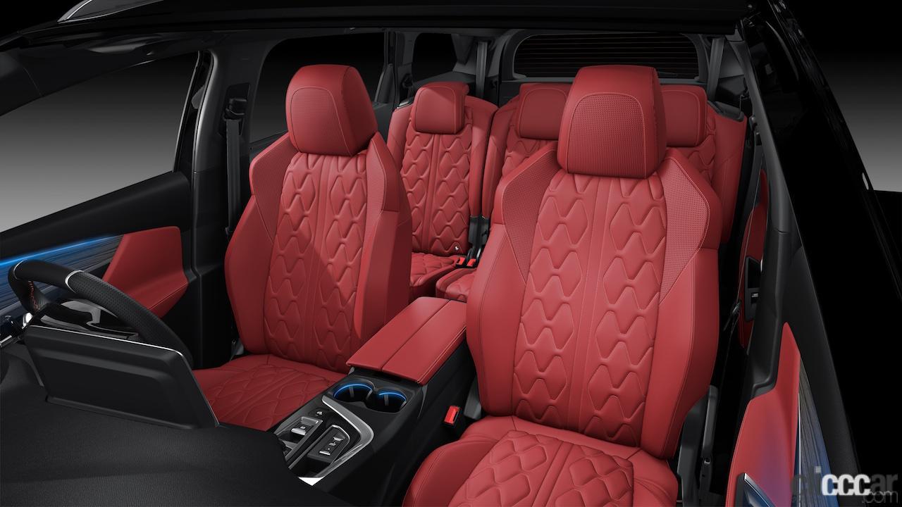 「ラグジュアリーな⾚いナッパレザーシートが際立つ特別仕様車プジョー「5008 GT BlueHDi Red Nappa」が発売」の2枚目の画像