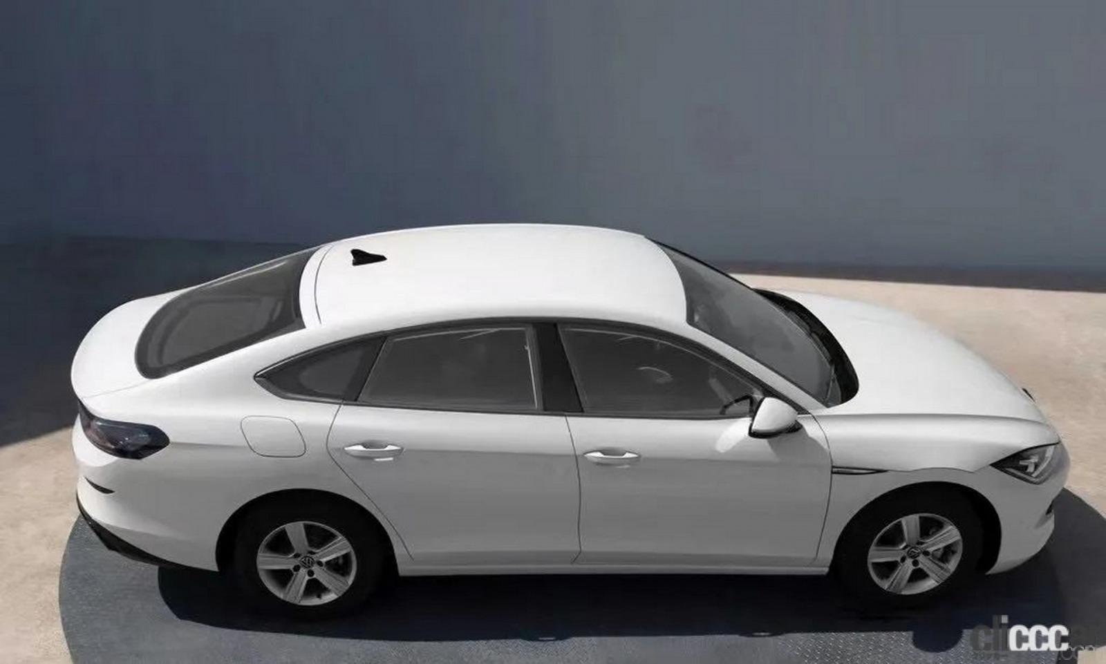 「VWゴルフの4ドアクーペ版「ラマンド」次期型は2021年内にデビュー予定」の5枚目の画像