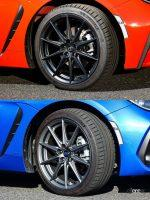 新型トヨタ「GR86」とスバル「BRZ」の外観チェック。顔以外見た目はほぼ一緒なのか? - YujiIde_gr86_brz_tire