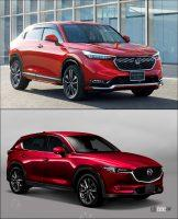vezel with option and CX-5