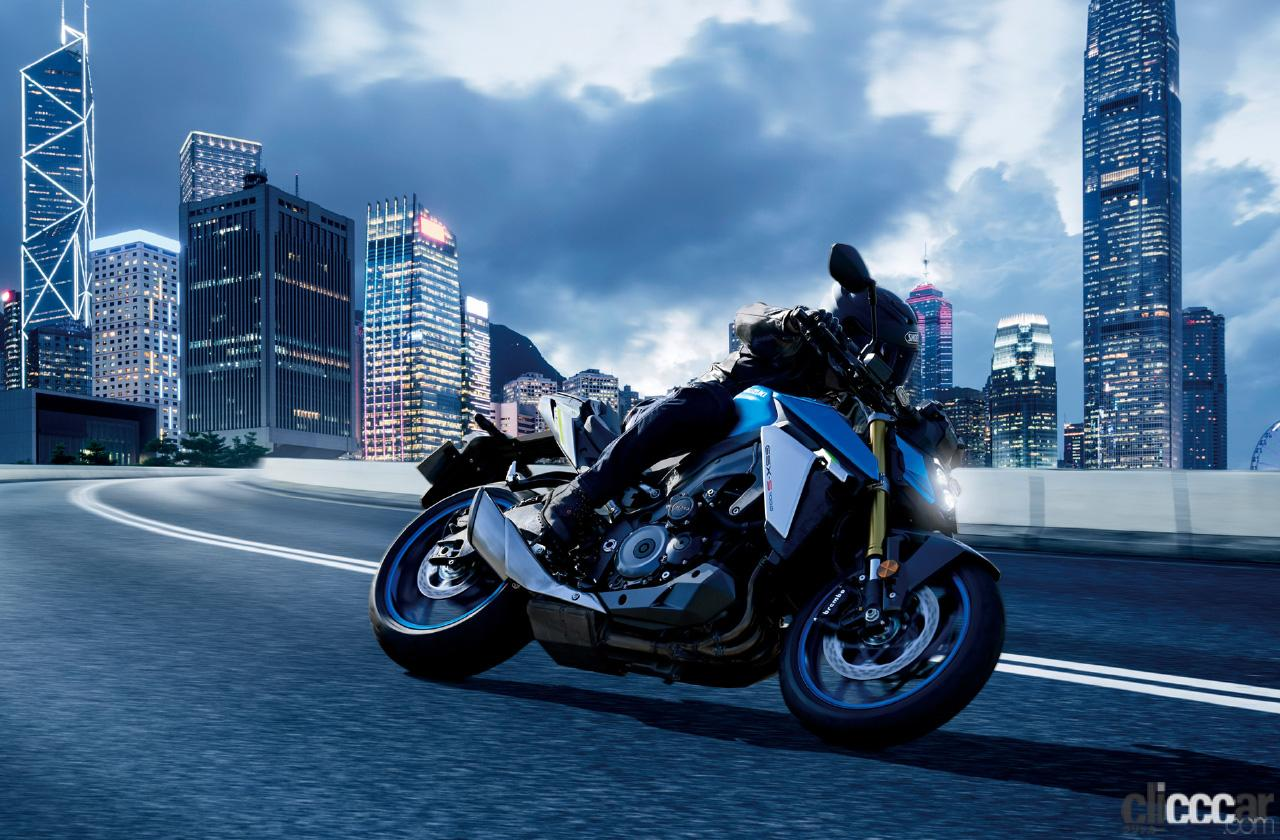 「スズキがマッチョ系ビッグバイク・2021年型「GSX-S1000」を国内投入! 欧州仕様とほぼ同スペックで143万円」の5枚目の画像