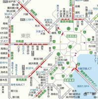 1000円上乗せ首都高ガラガラ。東京に向かう高速道路は事前告知無しの交通規制で大渋滞! 酷いものです - 7221