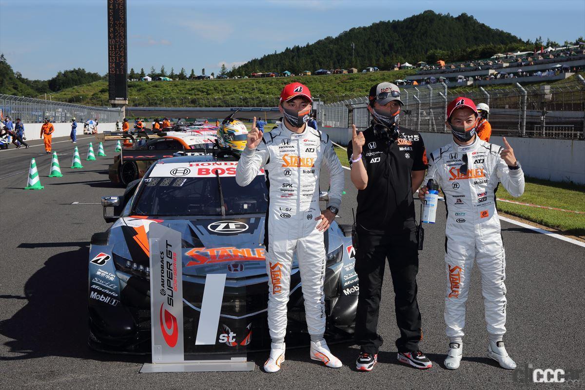「2020年の王者・STANLEY NSX-GTが首位を死守して第4戦もてぎを優勝!【SUPER GT 2021】」の13枚目の画像