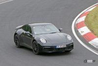 開発車両の車高がさらに高くなった! ポルシェ911サファリ、市販型プロトタイプをキャッチ - Porsche 911 Safari 6