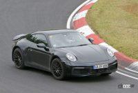 開発車両の車高がさらに高くなった! ポルシェ911サファリ、市販型プロトタイプをキャッチ - Porsche 911 Safari 7