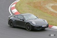 開発車両の車高がさらに高くなった! ポルシェ911サファリ、市販型プロトタイプをキャッチ - Porsche 911 Safari 8