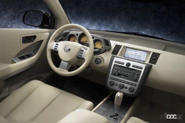 2004年発売のムラーノ(Interior)