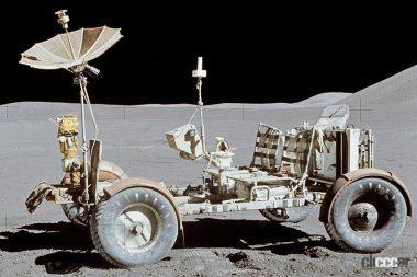 アポロ15号で船外活動に使用された月面車(C)Creative Commons