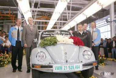2003年タイプ1最後のラインオフ(引用:VW甲府HP)