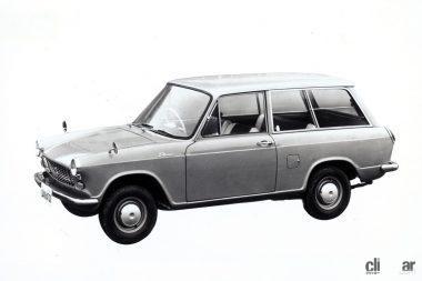 1963年発売のコンパーノ・バン