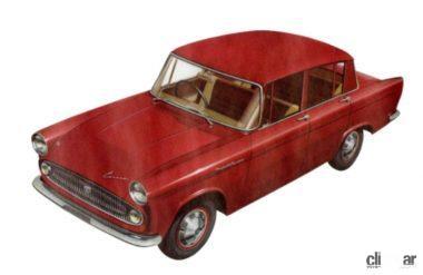 1960年発売の2代目トヨペットコロナ