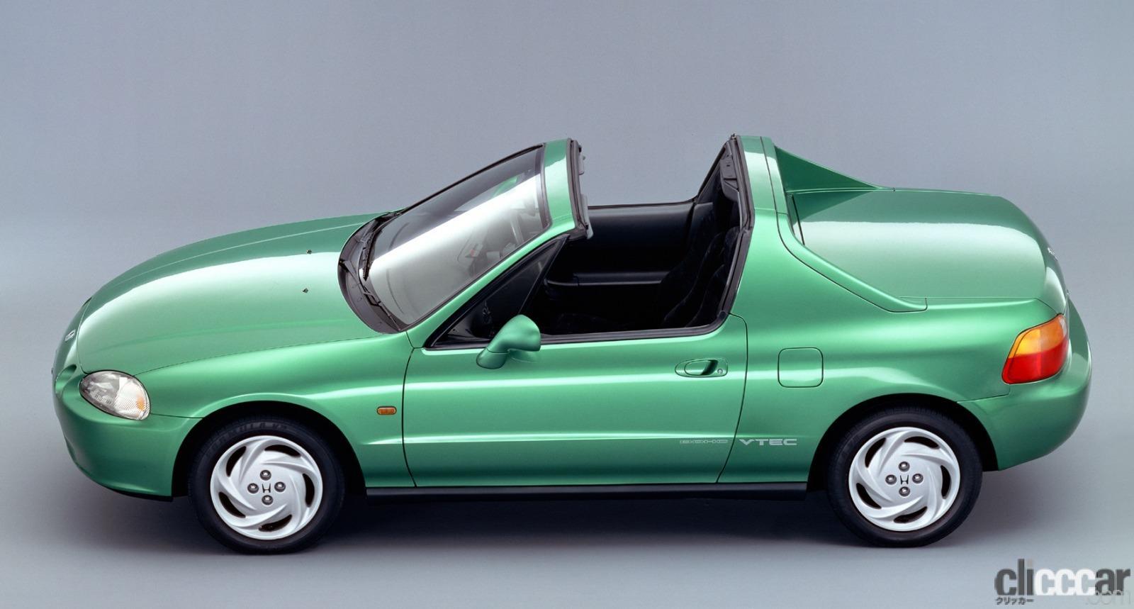 「ホンダ CR-Xデルソルが放つ南欧の光と風で、カタチも気分も変わる【ネオ・クラシックカー・グッドデザイン太鼓判「個性車編」第11回】」の2枚目の画像