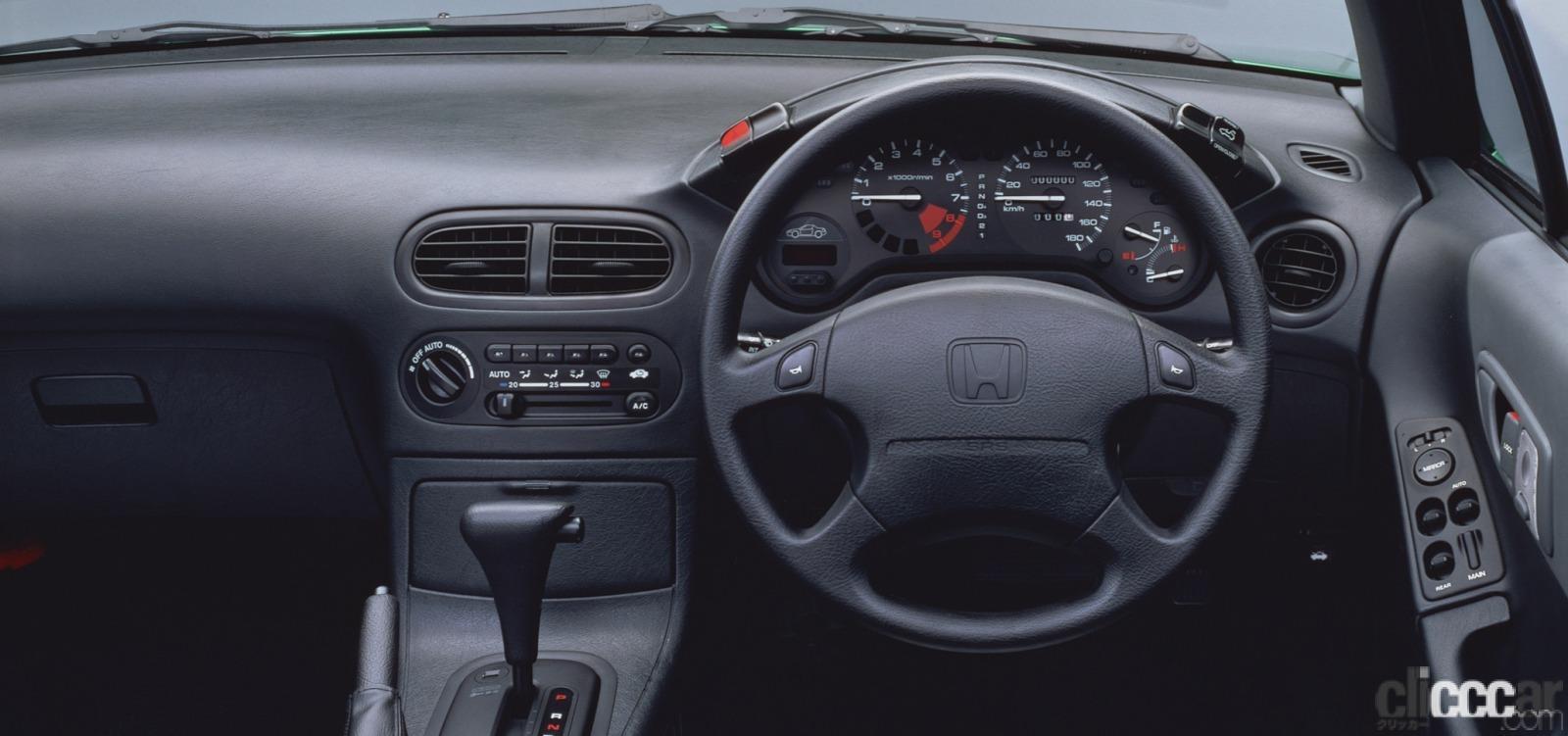 「ホンダ CR-Xデルソルが放つ南欧の光と風で、カタチも気分も変わる【ネオ・クラシックカー・グッドデザイン太鼓判「個性車編」第11回】」の4枚目の画像