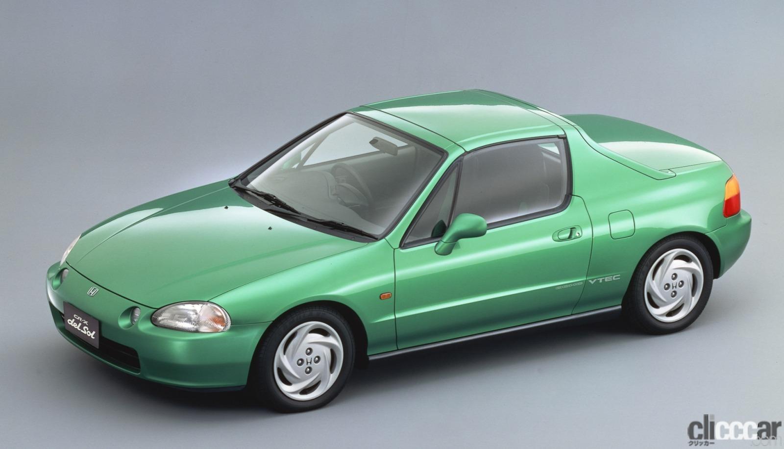 「ホンダ CR-Xデルソルが放つ南欧の光と風で、カタチも気分も変わる【ネオ・クラシックカー・グッドデザイン太鼓判「個性車編」第11回】」の5枚目の画像