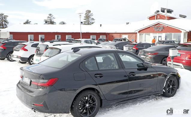 「BMW 3シリーズ改良型の画像が流出か!? 刷新されたフロントマスクを確認」の7枚目の画像