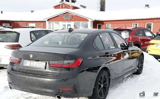「BMW 3シリーズ改良型の画像が流出か!? 刷新されたフロントマスクを確認」の8枚目の画像