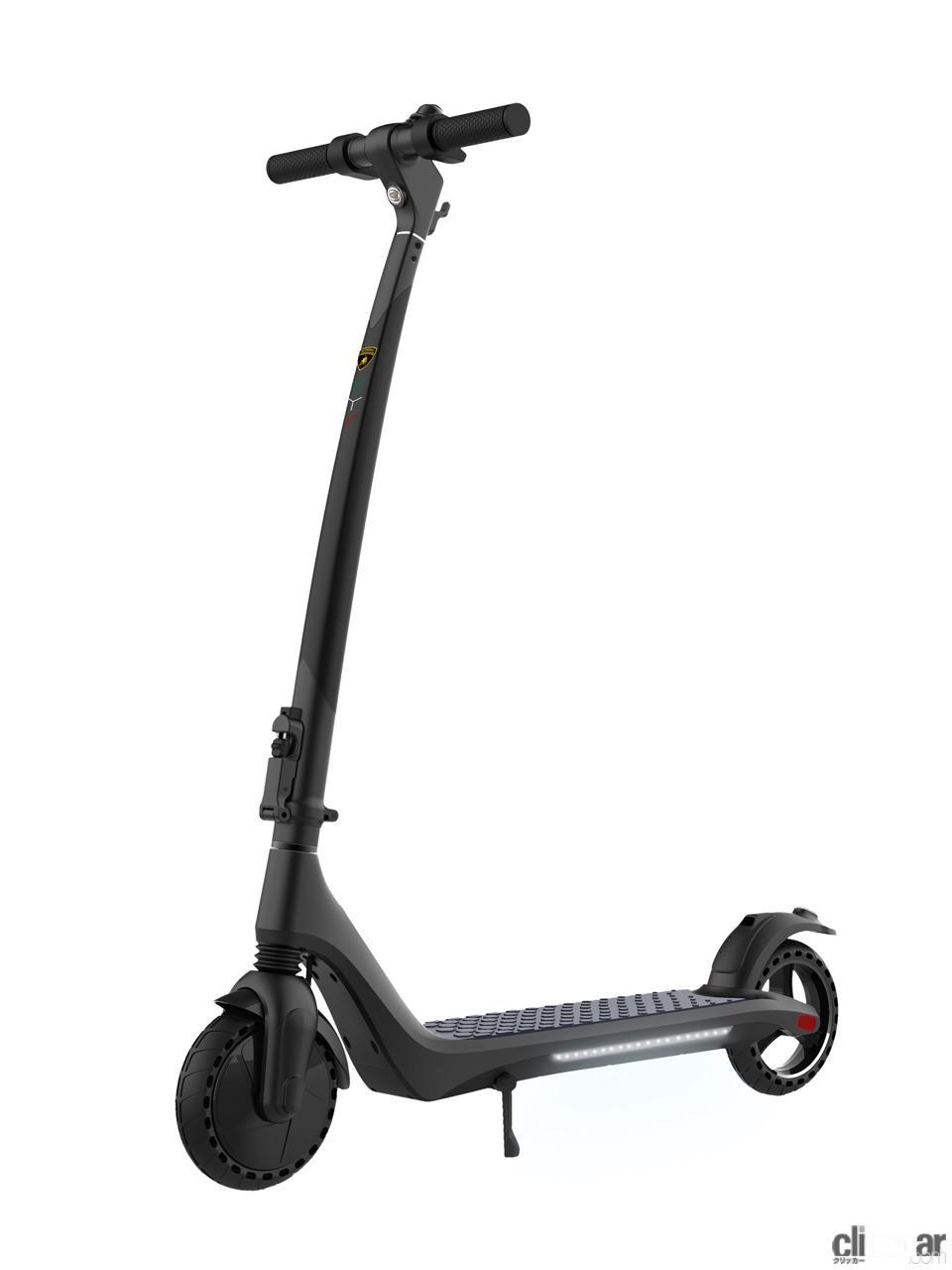 「ランボルギーニが電動スクーター「AL 1」発売。これなら宝くじに当たらなくても買える!?」の2枚目の画像
