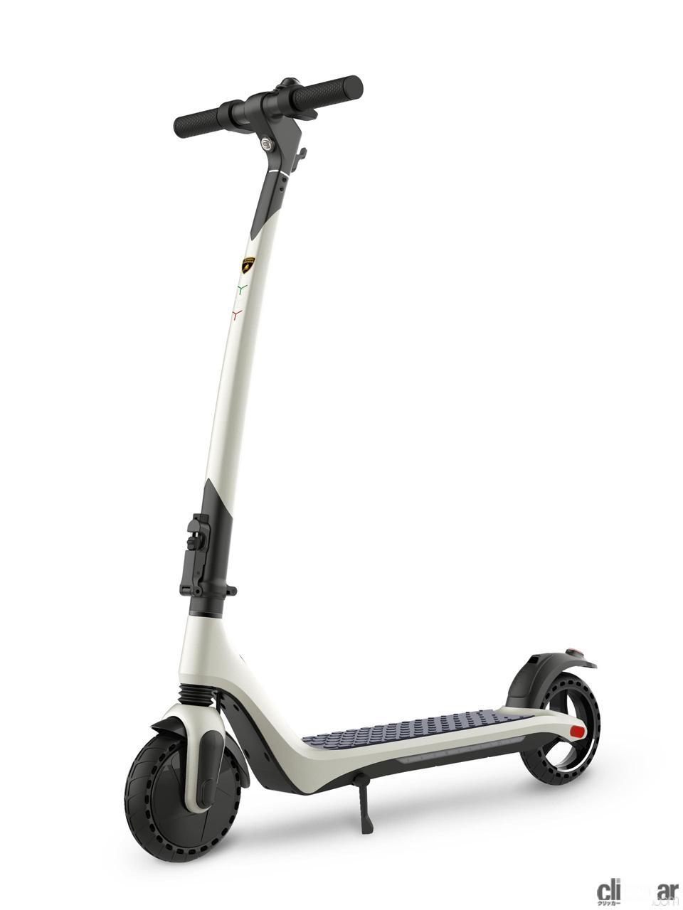 「ランボルギーニが電動スクーター「AL 1」発売。これなら宝くじに当たらなくても買える!?」の3枚目の画像
