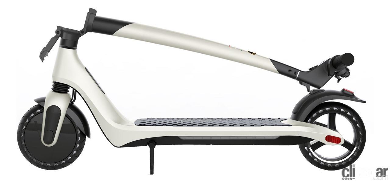 「ランボルギーニが電動スクーター「AL 1」発売。これなら宝くじに当たらなくても買える!?」の4枚目の画像
