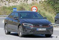 VWゴルフ GTIのセダン版「ジェッタ GLI」改良型を初スクープ! - VW Jetta GLI facelift 5