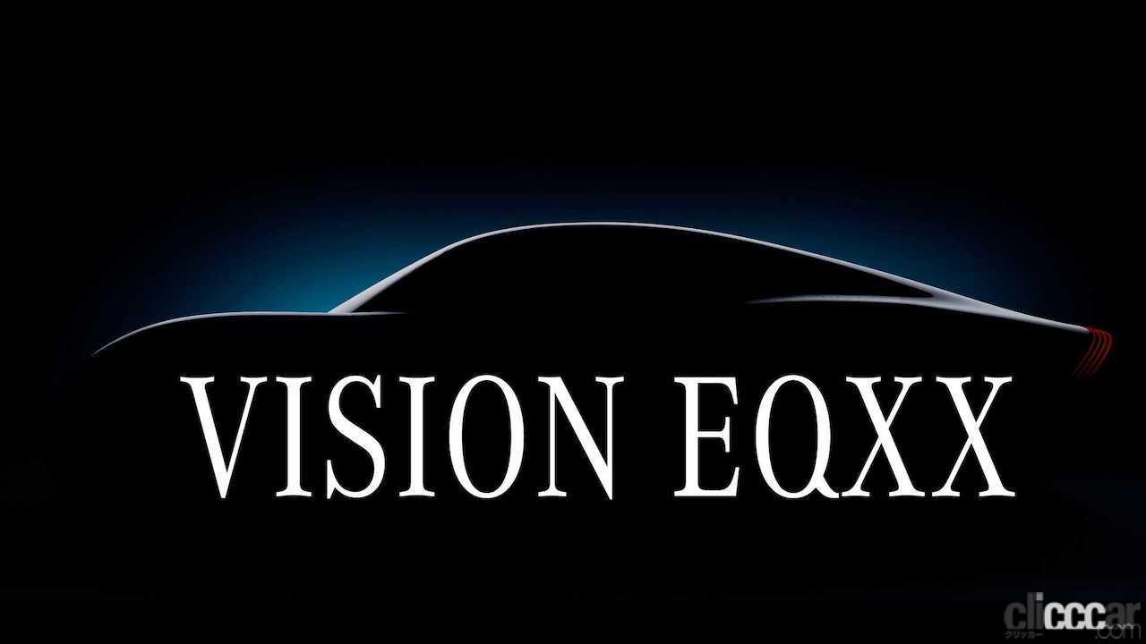 「メルセデスAMG F1部門が協力、次世代EV「ビジョン EQXX」を予告!」の1枚目の画像