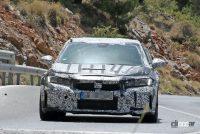 ホンダ シビック タイプR 次期型プロト、センター3本出しエキゾーストパイプを装着! - Honda Civic Type R 11