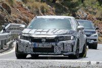 ホンダ シビック タイプR 次期型プロト、センター3本出しエキゾーストパイプを装着! - Honda Civic Type R 12