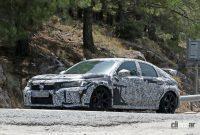 ホンダ シビック タイプR 次期型プロト、センター3本出しエキゾーストパイプを装着! - Honda Civic Type R 14