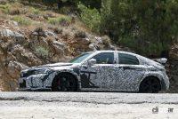 ホンダ シビック タイプR 次期型プロト、センター3本出しエキゾーストパイプを装着! - Honda Civic Type R 15