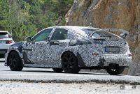 ホンダ シビック タイプR 次期型プロト、センター3本出しエキゾーストパイプを装着! - Honda Civic Type R 18