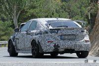ホンダ シビック タイプR 次期型プロト、センター3本出しエキゾーストパイプを装着! - Honda Civic Type R 19