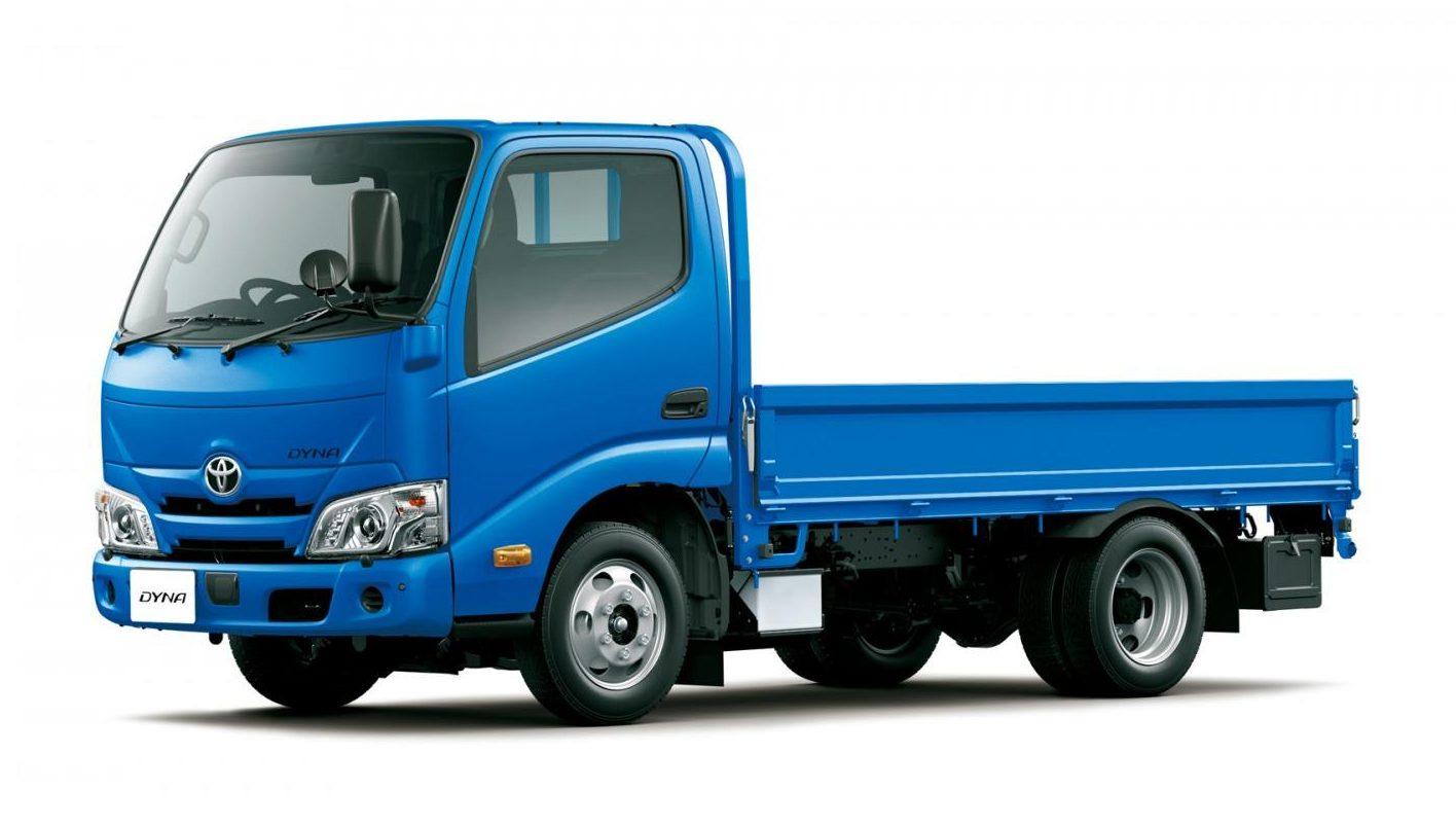 「トヨタの小型・中型トラックに衝突被害軽減ブレーキなどの先進安全装備を標準化」の1枚目の画像