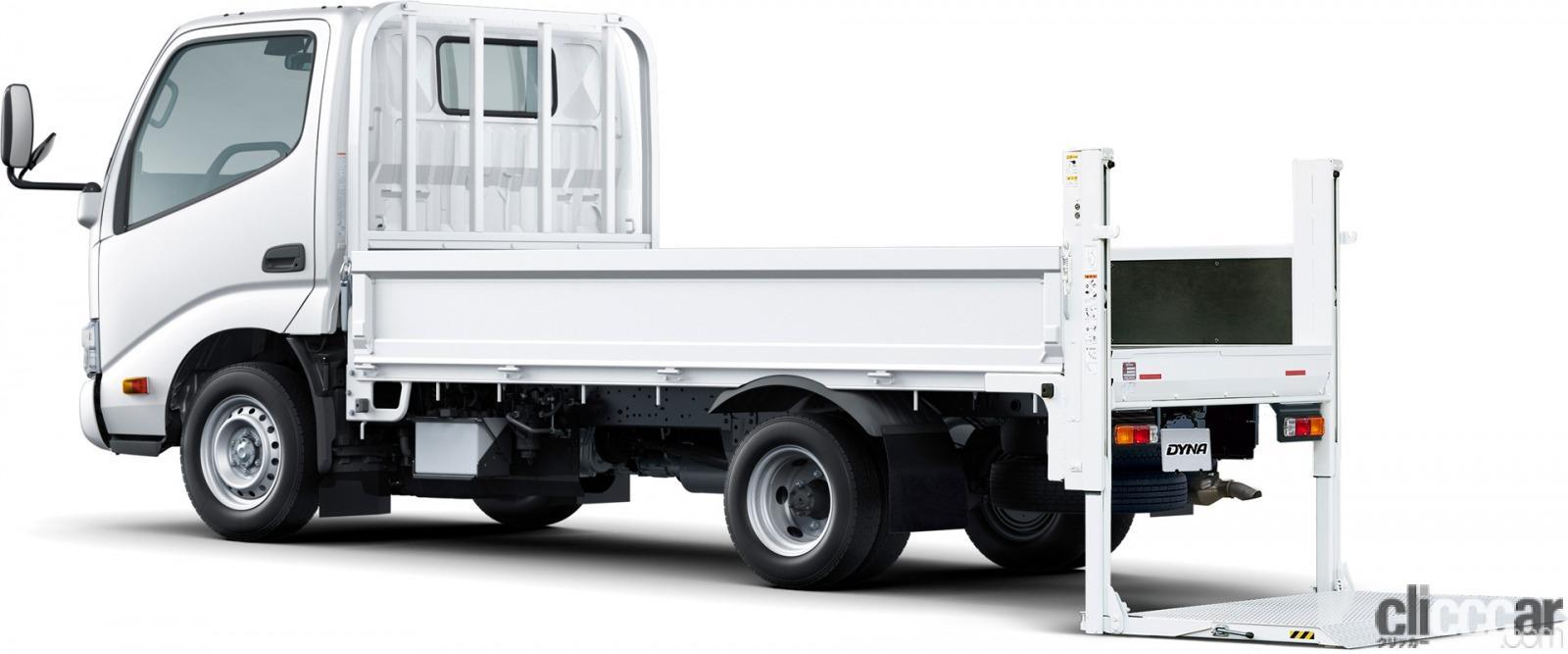 「トヨタの小型・中型トラックに衝突被害軽減ブレーキなどの先進安全装備を標準化」の2枚目の画像