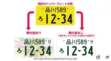 9月に終了する白い東京オリパラ特別ナンバーの後継はあるのか