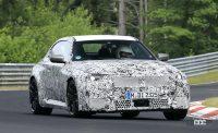 新型BMW M2がニュルで高速テスト!M3/M4用3L直6ツインターボをデチューン搭載 - Spy shot of secretly tested future car