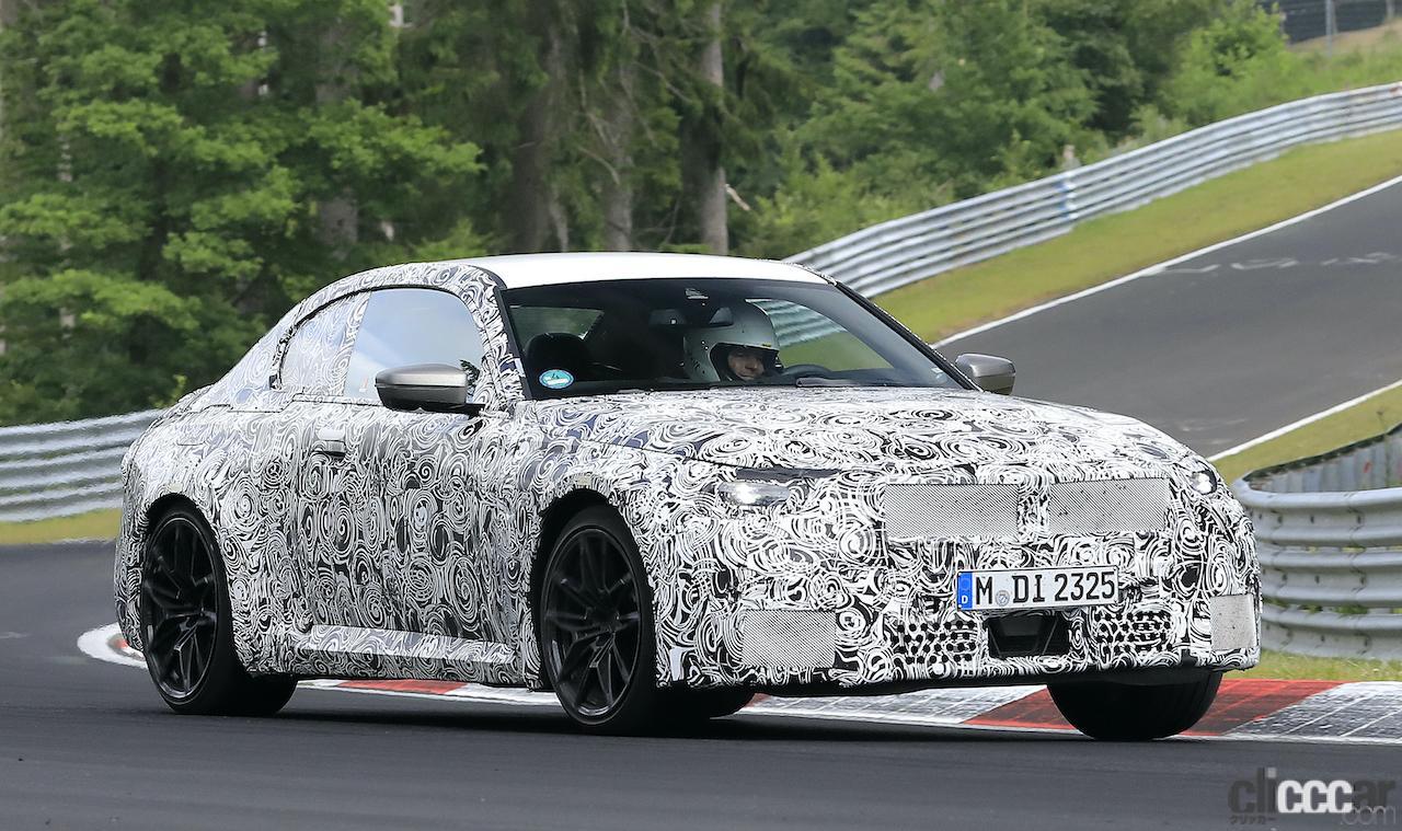 「新型BMW M2がニュルで高速テスト!M3/M4用3L直6ツインターボをデチューン搭載」の3枚目の画像