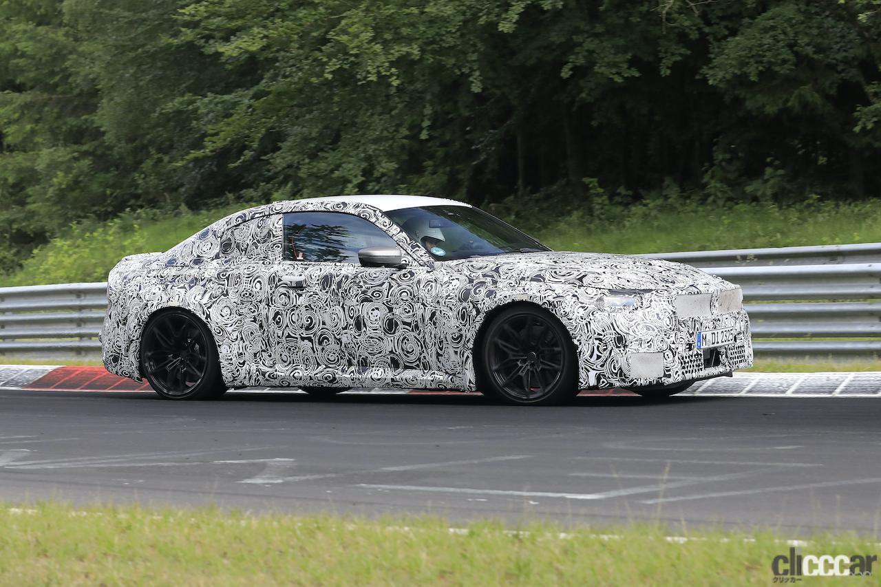 「新型BMW M2がニュルで高速テスト!M3/M4用3L直6ツインターボをデチューン搭載」の5枚目の画像