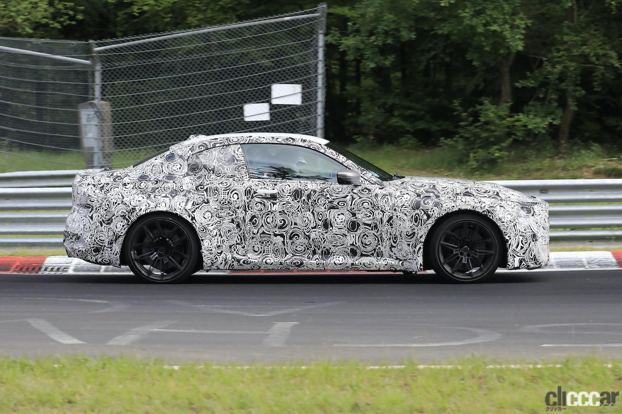 「新型BMW M2がニュルで高速テスト!M3/M4用3L直6ツインターボをデチューン搭載」の6枚目の画像